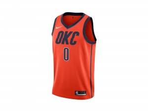 Nike Russell Westbrook NBA Earned City Edition Swingman Jersey