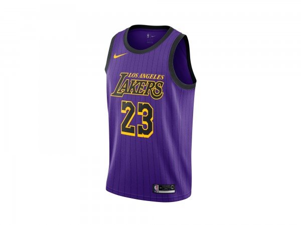 Nike Lebron James NBA City Edition Swingman Jersey