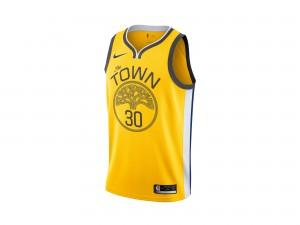 Nike Steph Curry NBA Earned City Edition Swingman Jersey