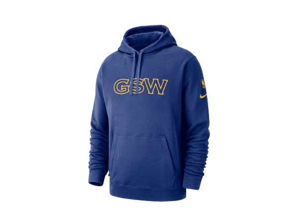 Nike Golden State Warriors NBA Courtside Hoody