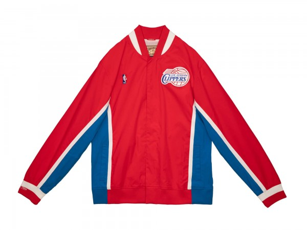 M&N NBA Los Angeles Clippers Authentic Warm Up Jacket