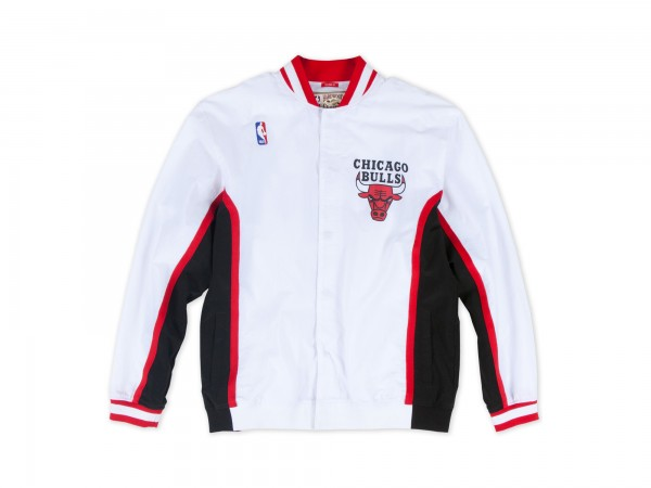 M&N NBA Chicago Bulls Authentic Warm Up Jacket