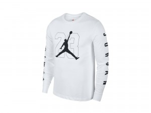 Jordan Black&White Graphic Longsleeve Shirt