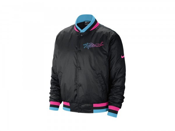 Nike NBA Miami Heat City Edition Courtside Jacket