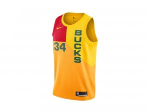 Nike Giannis Antetokounmpo NBA City Edition Swingman Jersey