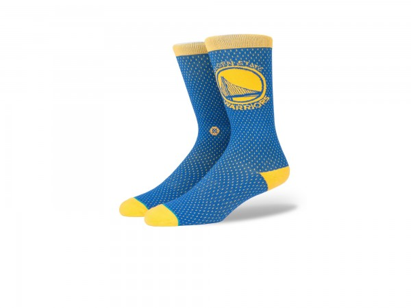 Stance NBA Arena Warriors Jersey Crew Socke