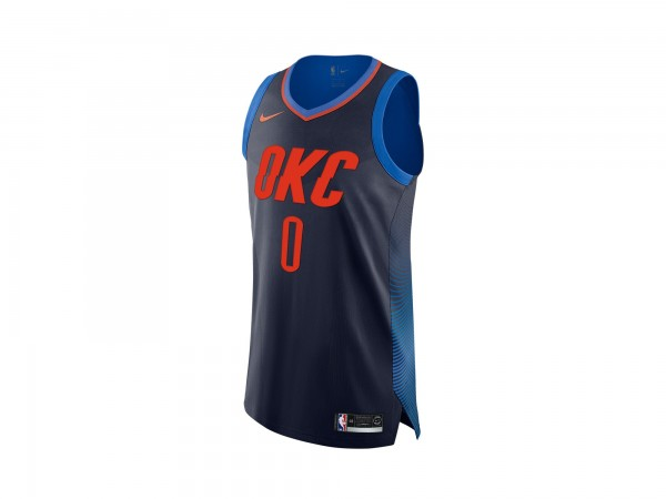 Nike Russell Westbrook NBA Statement Edition Authentic Jersey
