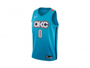 Nike Russell Westbrook NBA City Edition Swingman Jersey