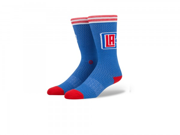 Stance NBA Arena Clippers Jersey Crew Socke