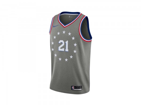Nike Joel Embiid NBA City Edition Swingman Jersey