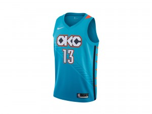 Nike Paul George NBA City Edition Swingman Jersey