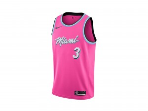 Nike Dwyane Wade NBA Earned City Edition Swingman Jersey