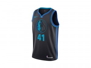 Nike Dirk Nowitzki NBA City Edition Swingman Jersey